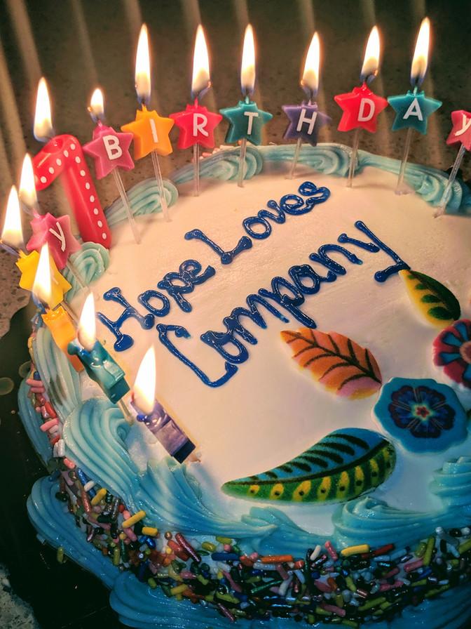 Happy Birthday, Hope Loves Company!
