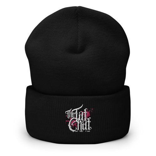 The Tat Chat Cuffed Beanie
