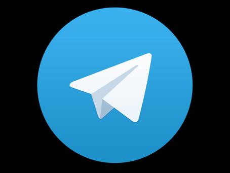 Join Me On Telegram!