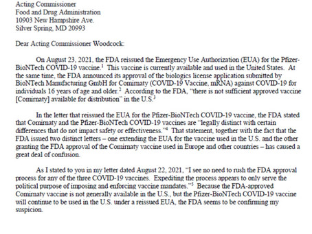 Update: Others See Through the FDA Deception