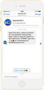 Facebook Messenger Bot by V5 Digital