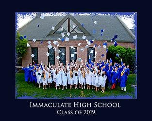 Immaculate Graduation Border 8X10 - Copy