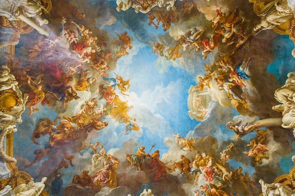 ceiling versailles