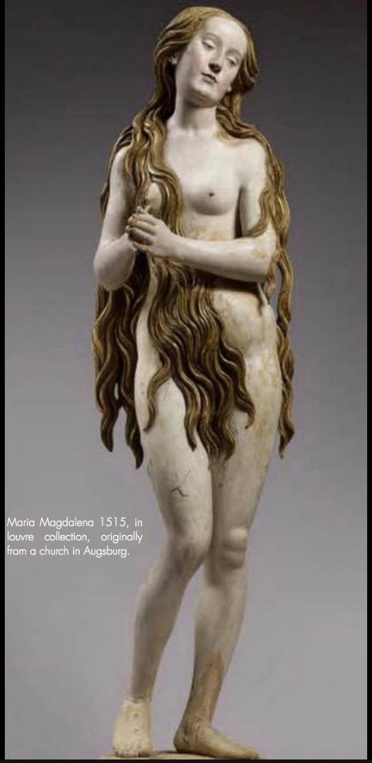 1515 Magdalene sculpture from church in Augsburg