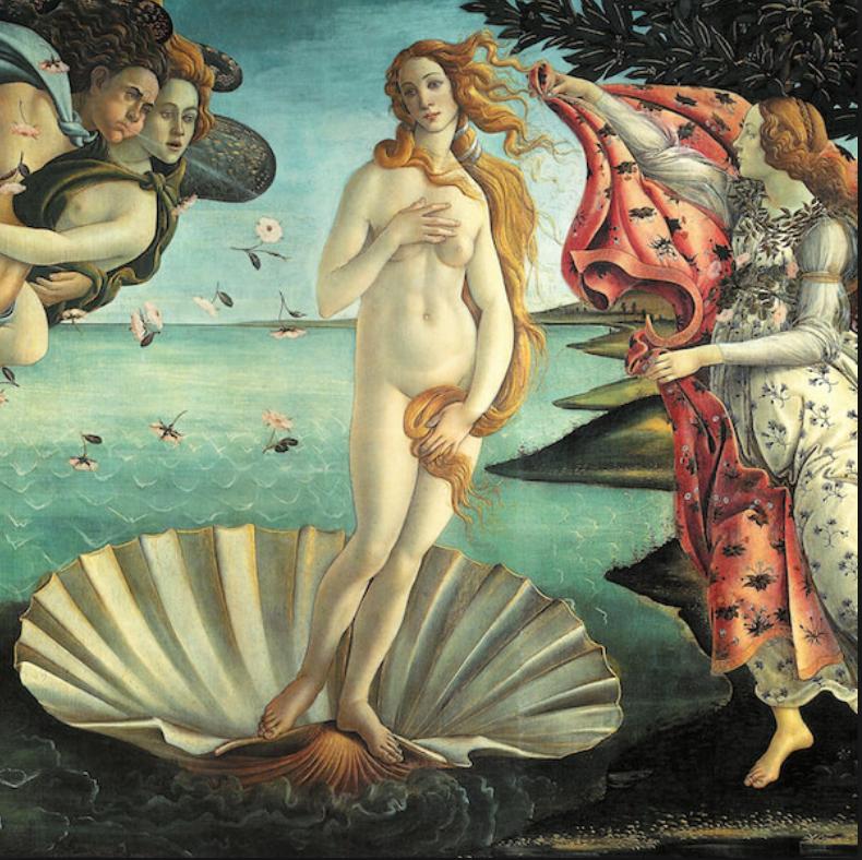 Botticeli Birth of Venus