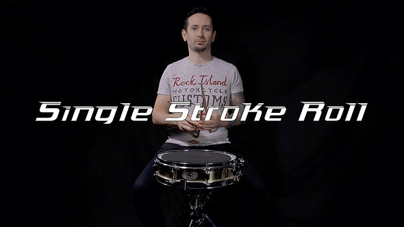 Single Stroke Roll - Rudiment Lesson.