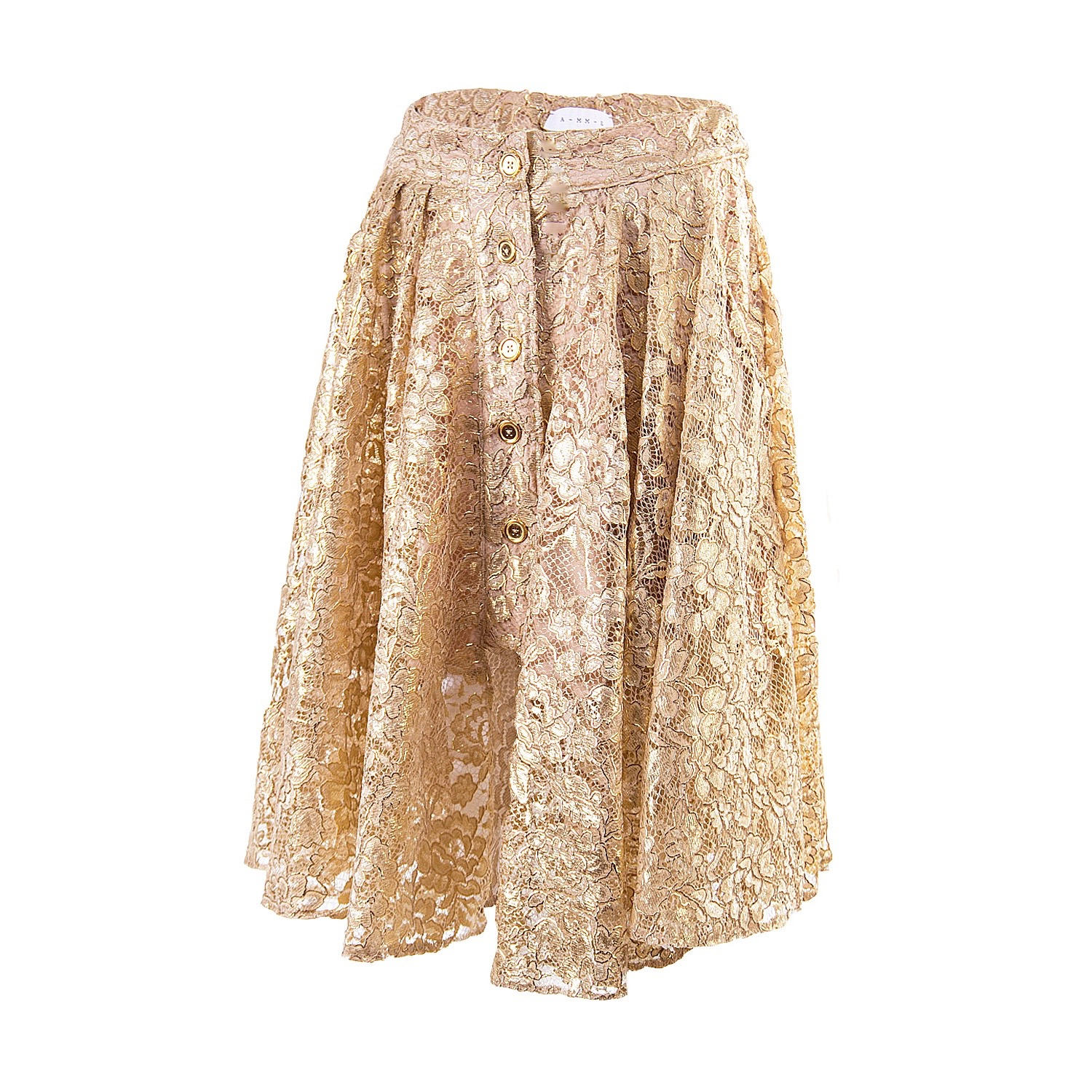 The Gold Lace Riding Skirt