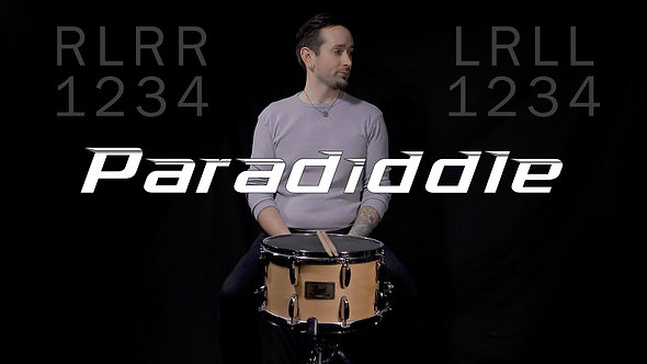 Paradiddle- Rudiment Lesson.