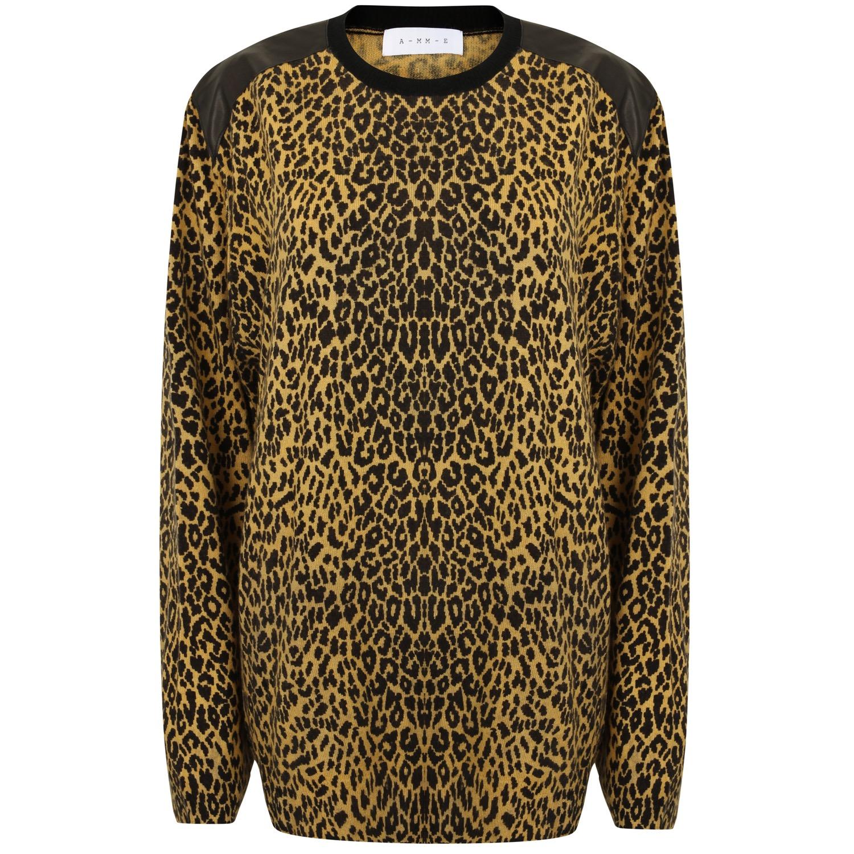 The Leopard Oversize Cashmere