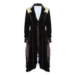 The Silk Velvet & Gold Riding Coat