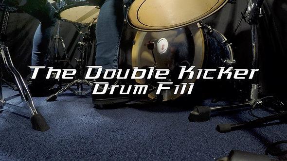 Double Kicker Drum Fill - Drum Lesson.