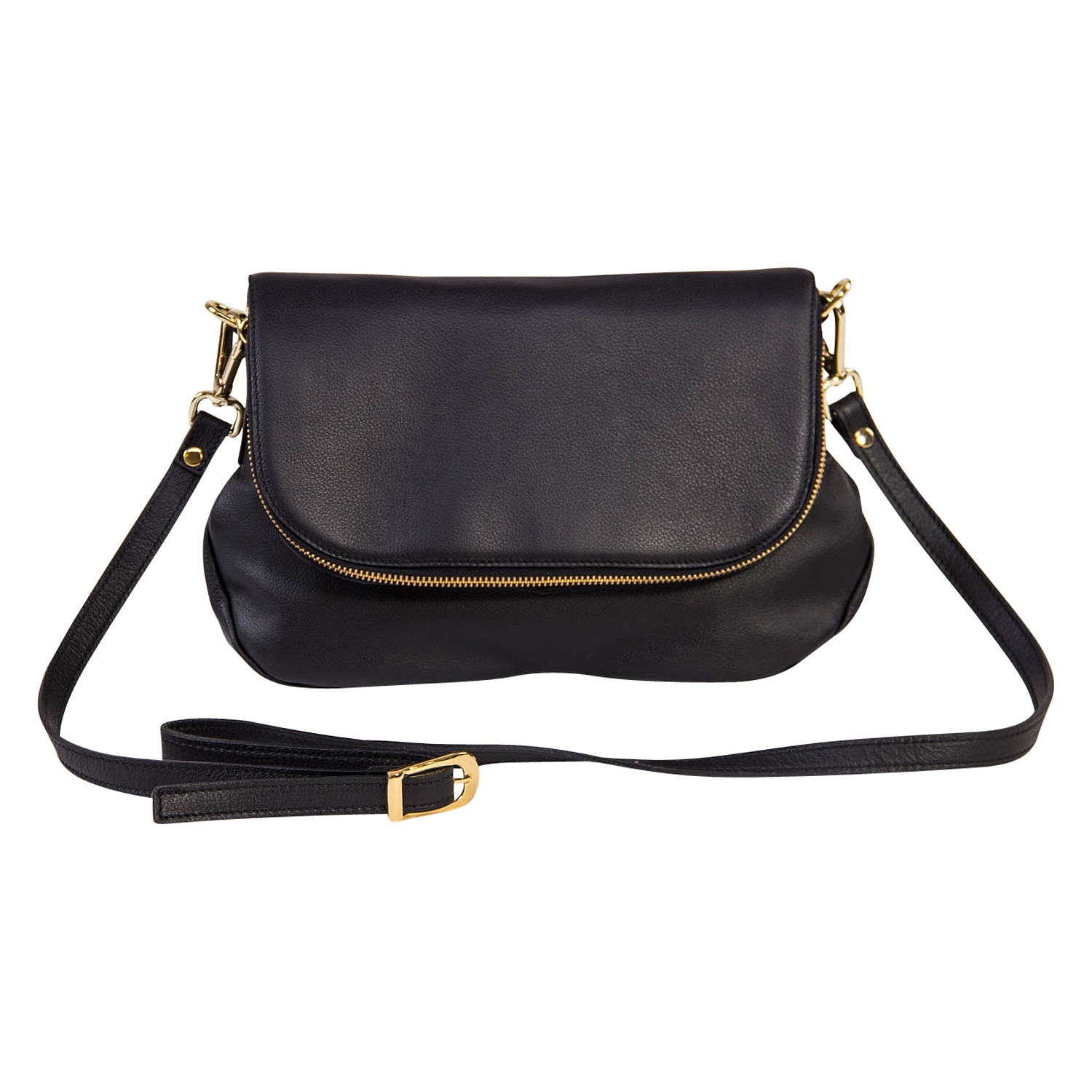 The Black & Gold Envelope Bag