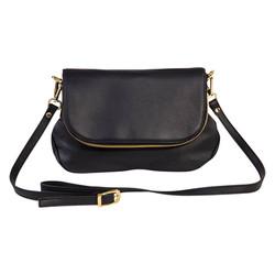 The Black & Gold Envelope Bag