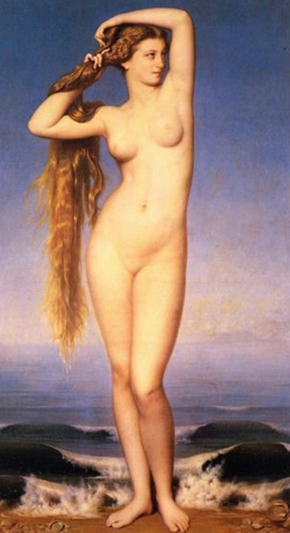 The Birth of Venus Painting by Duval