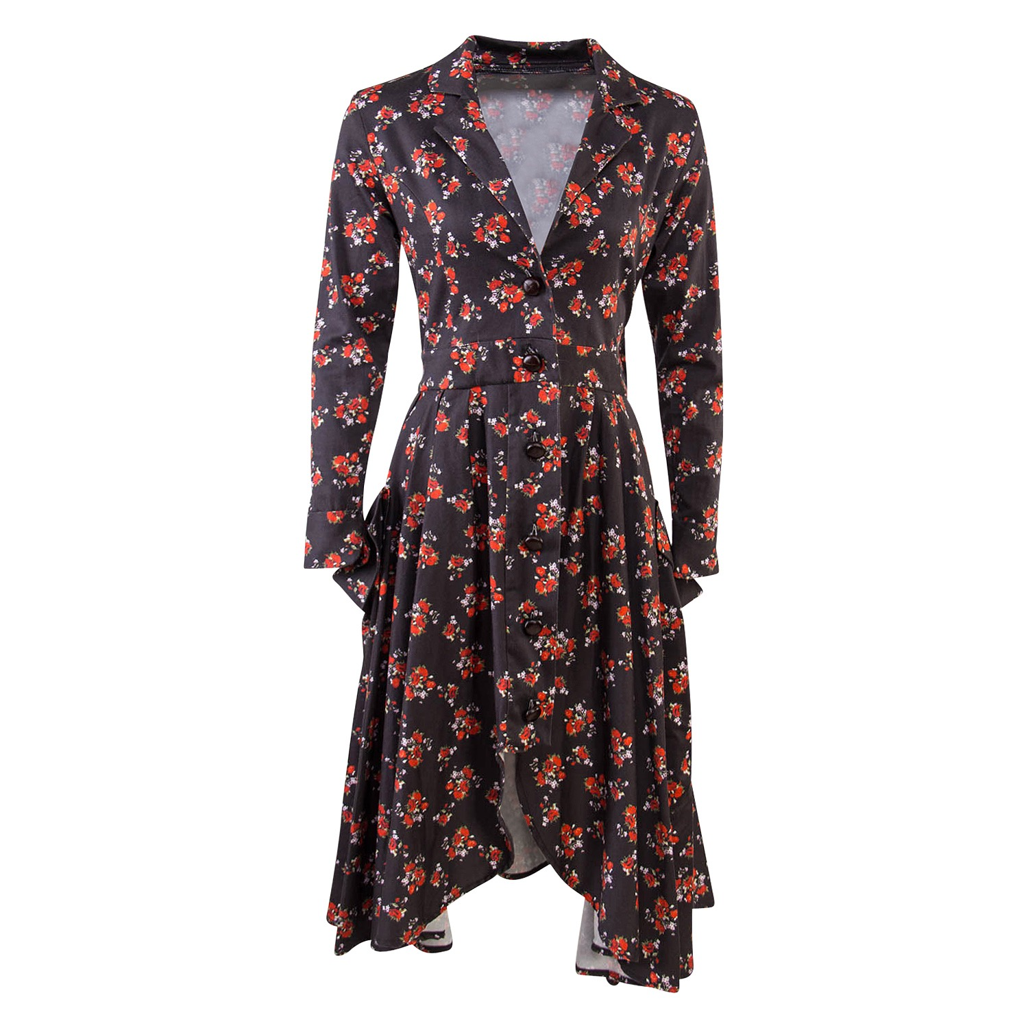 The Sicilian Floral Riding Coat