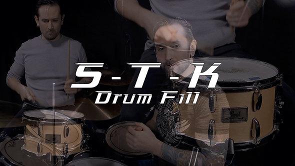 S.T.K Drum Fill - Drum Lesson.