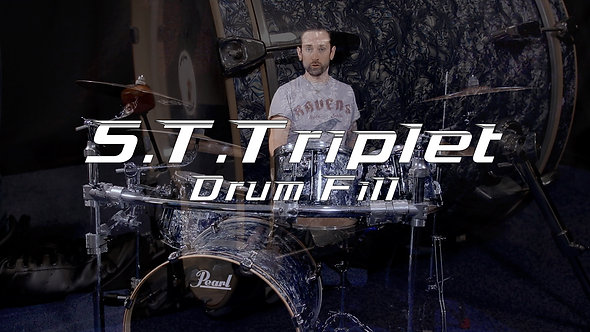 S.T.Triplet Drum Fill - Drum Lesson.