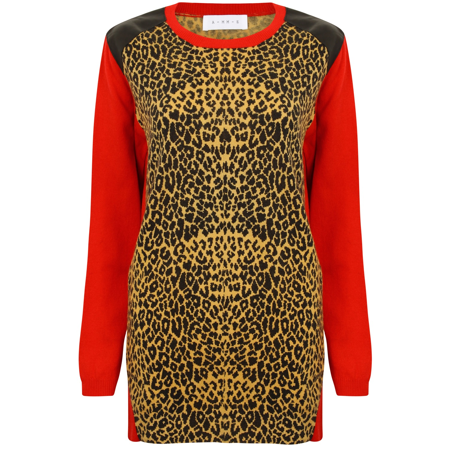The Leo & Red Colour Block Cashmere
