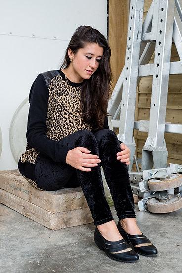 Leopard & Black