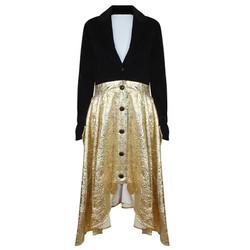 The Black & Gold Riding Coat