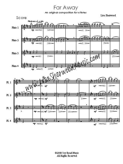 Far Away Flute Quartet