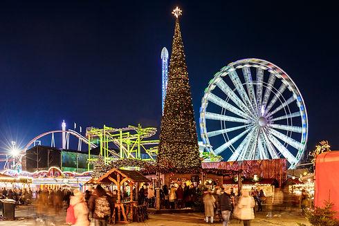 Christmas fair in Hyde park in 2016, Lon
