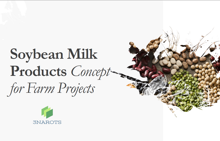 Soybean Milk Products Concept