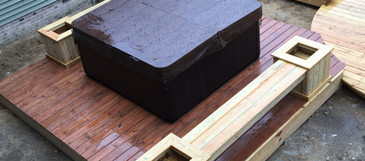 OC Home Services Hot Tub Installation