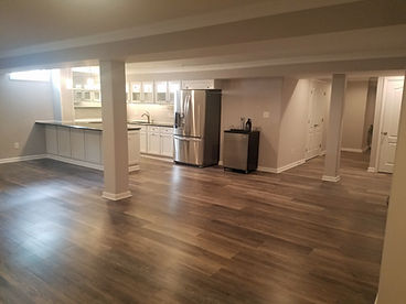 OC Home Services Finished Basement