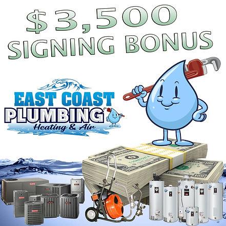 Hiring Plumbers & HVAC Technicians