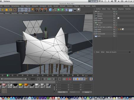 Mr Fox, Video mapping 3D, Nopala Hgo.