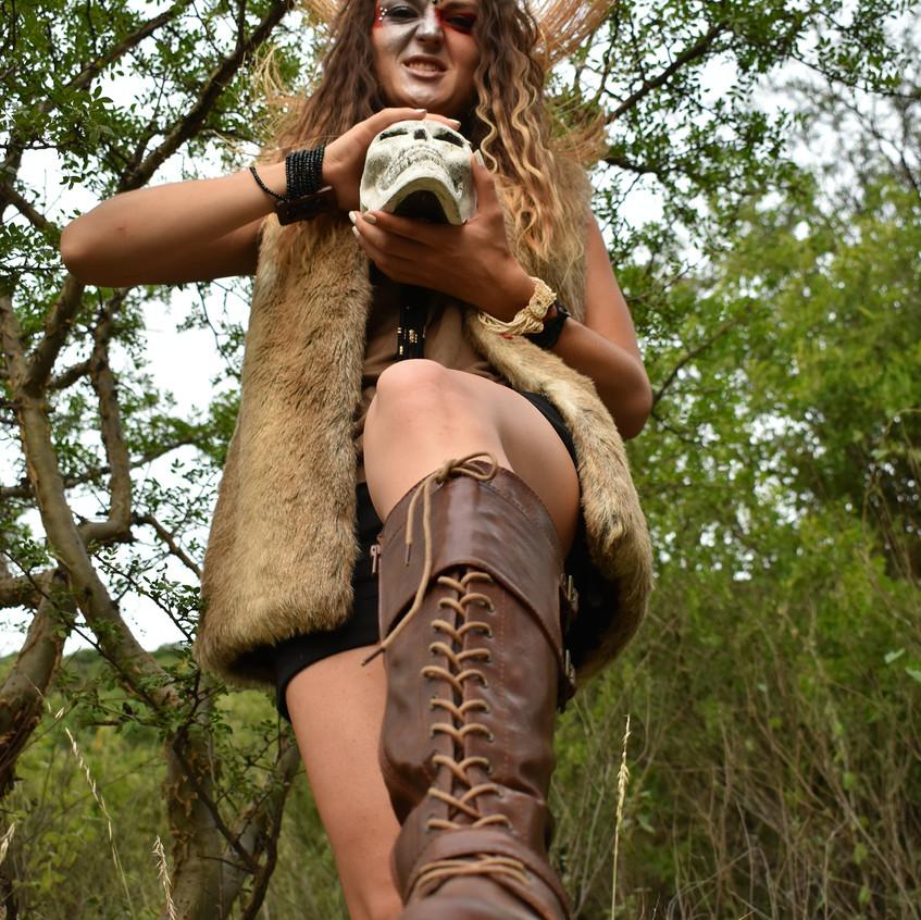 Mujer salvaje