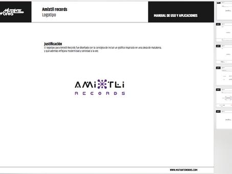 AMIXTLI RECORDS / Logotipo