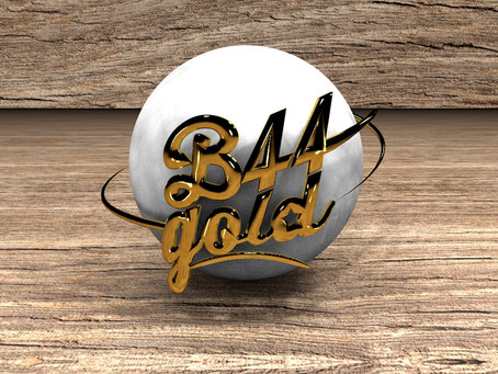 B44 Logotipo 3D