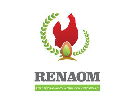 RENAOM Red Nacional Avícola Orgánico Mexicana | Logotipo