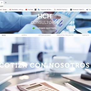 HCH Consultores | Sitio web