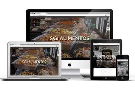 SGI Alimentos Sitio Web