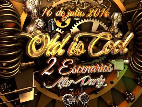 OLD IS COOL / ARTE PARA FESTIVAL EN ESTADO DE MÉXICO