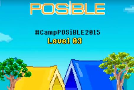 Campamento #Posible2015 Día 1