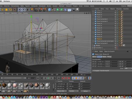 Kukulkan 1 | Video mapping 3D en La Galería Querétaro.