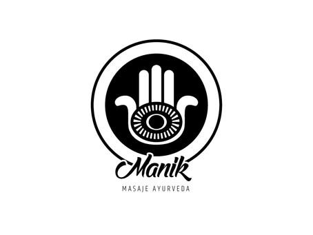 Manik Masaje Ayurveda | Logotipo