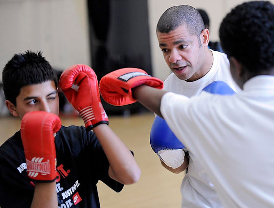 Leroy Nicholas, SweetScience Boxing Mentoring Programme, Schools, Boxing Coach