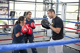 Leroy Nicholas Boxing Coaching, Girls Boxing, SweetScience