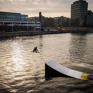 Wakeboarding i Malmö