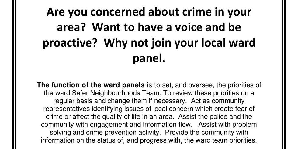 Abbey Wood Safer Neighbourhood Ward Panel
