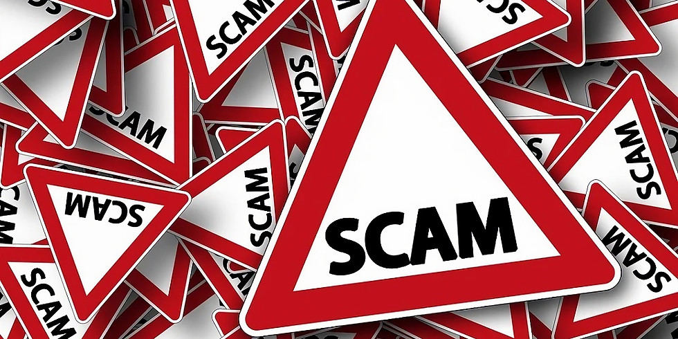 Scams - Protect your community