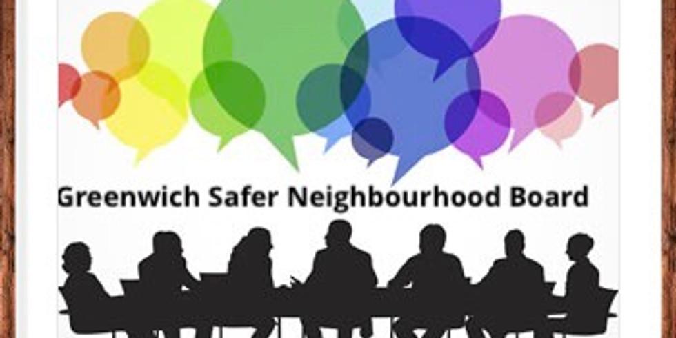 Greenwich Safer Neighbourhood Board Meeting