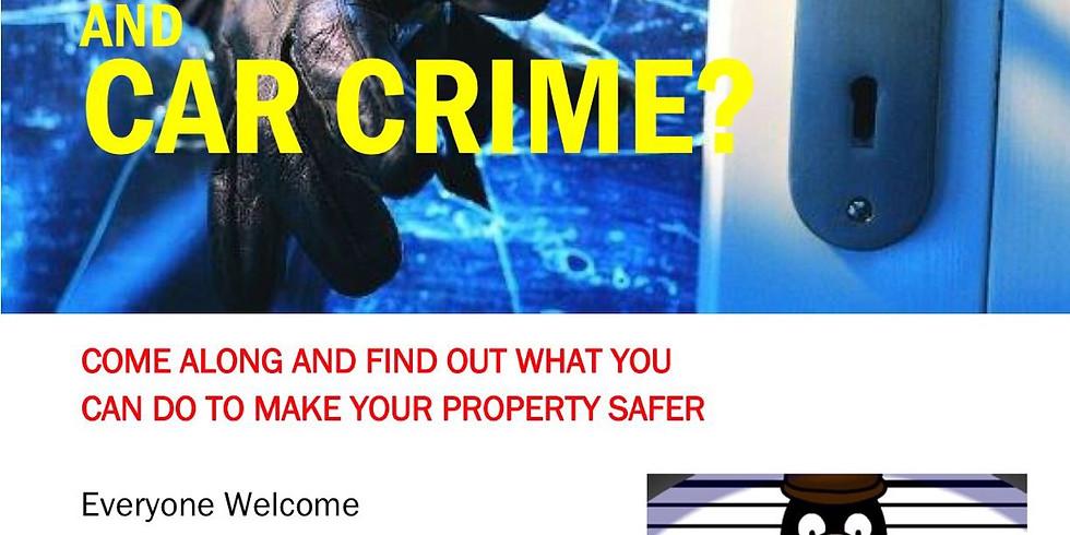Burglary & Car Crime Action Event