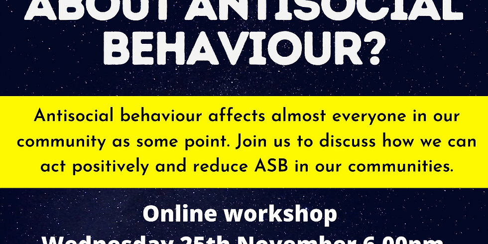 What can we do about Antisocial Behaviour?