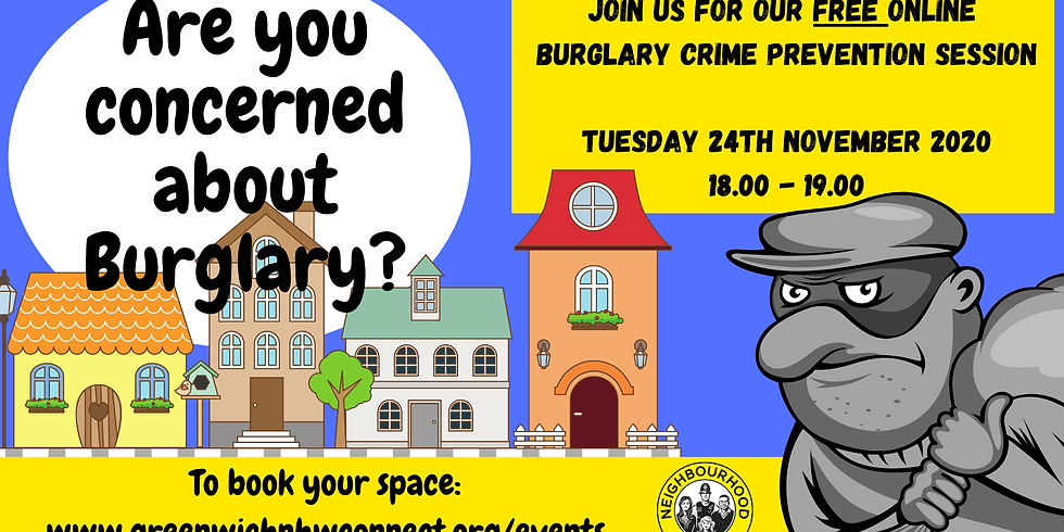 Burglary Crime Prevention Event